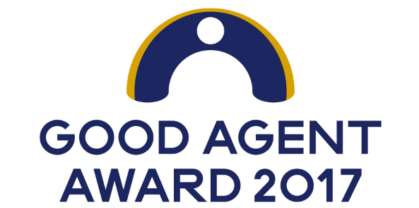 「GOOD AGENT AWARD 2017」を受賞
