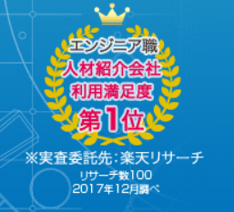 人材紹介会社利用満足度NO.1