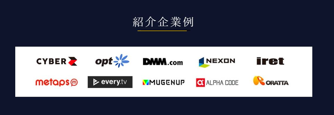 TechClipsエージェントの紹介企業
